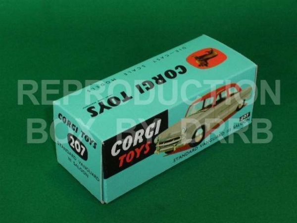 Corgi #207 Standard Vanguard Saloon - Reproduction Box